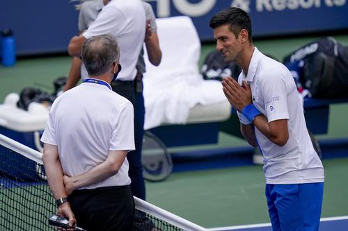 Novak Djokovic Disqualified From Us Open Tennis 2020 After Line Judge Incident 7news Com Au